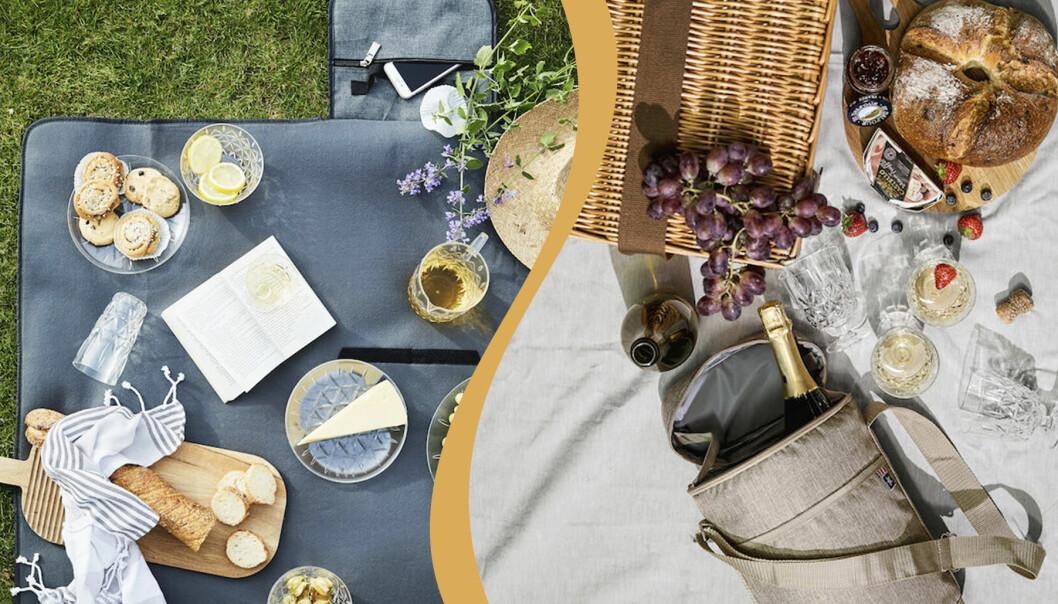 Picknicktillbehör och prylar