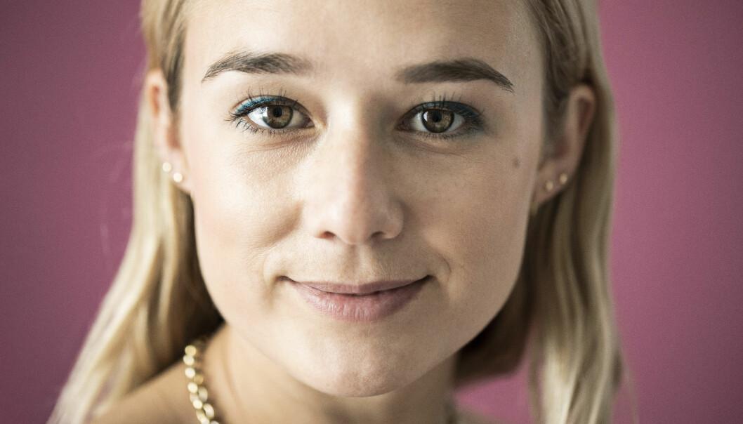 Porträtt av Alba August.