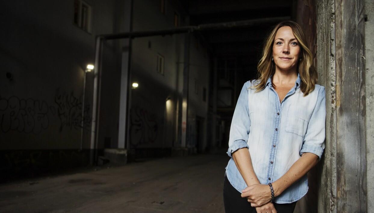 Porträtt av Anna Bennich som är psykoterapeut och författare. Foto: TT