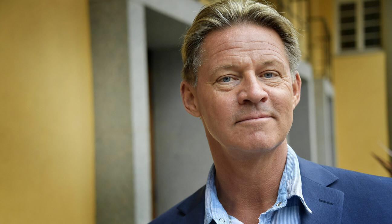 Porträtt av Doktor Mikael Sandström, även känd som Soldoktorn i TV4:s Nyhetsmorgon.