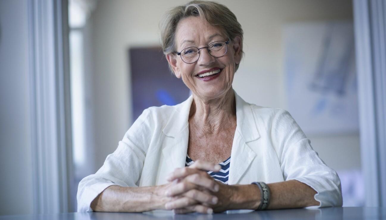 Porträtt av Gudrun Schyman.