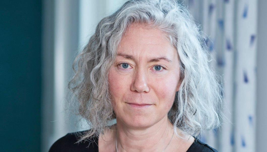 Porträtt av Misse Wester – doktor i psykologi och gästprofessor vid avdelningen för riskhantering och samhällssäkerhet vid Lunds tekniska högskola tidigare sagt.