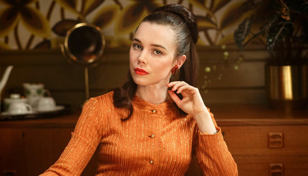 Porträtt av Nina Löwander, som spelas av Hedda Stiernstedt, i Vår tid är nu.