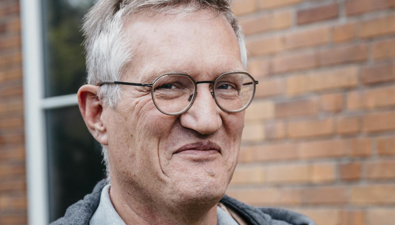 Porträtt av statsepidemiolog Anders Tegnell.