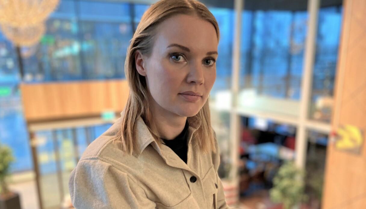 Porträtt på epidemiologen Emma Frans.