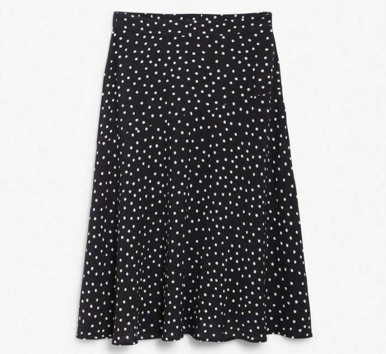 Prickig kjol från KappAhl.