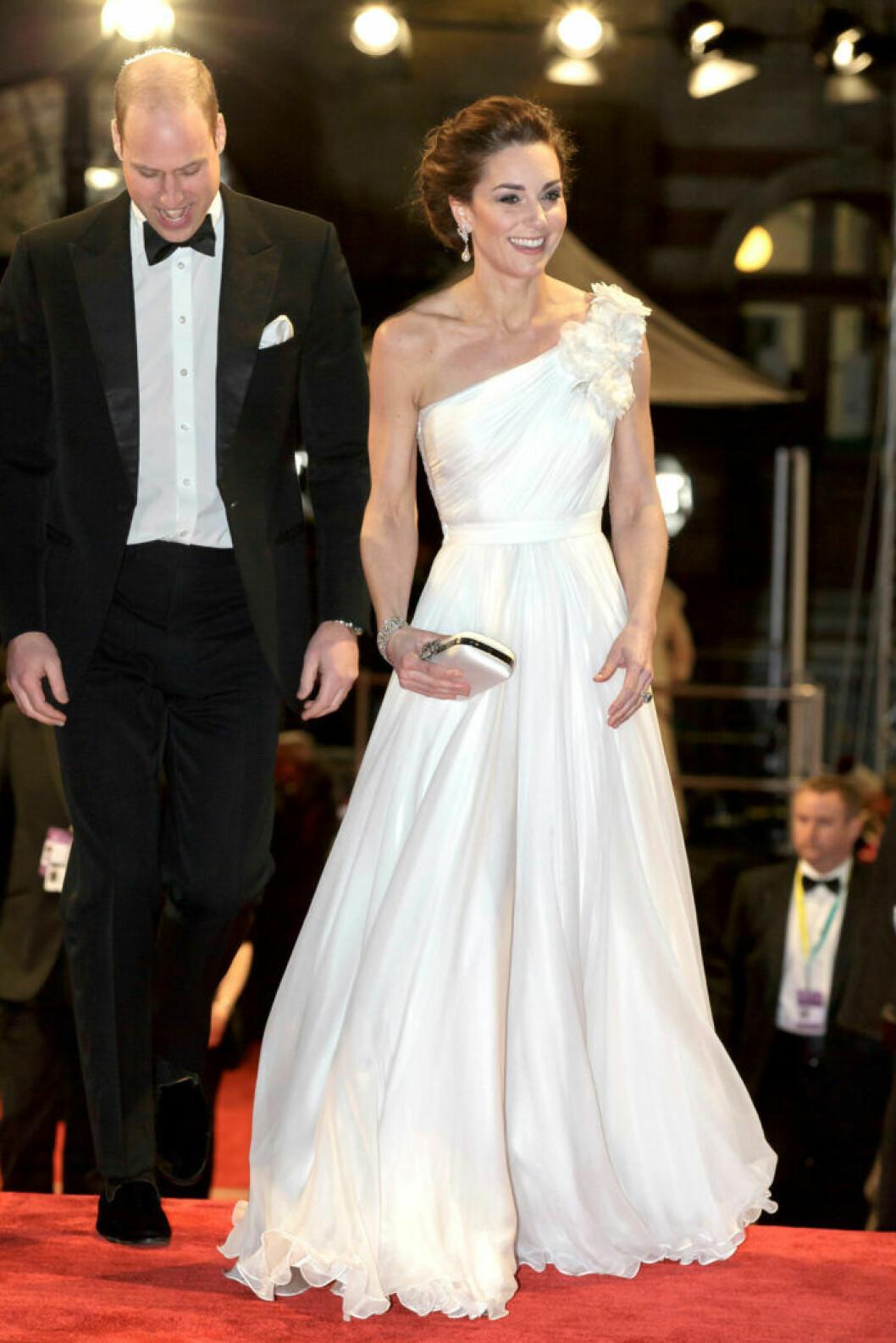 Prins William och Kate på BAFTA 2019