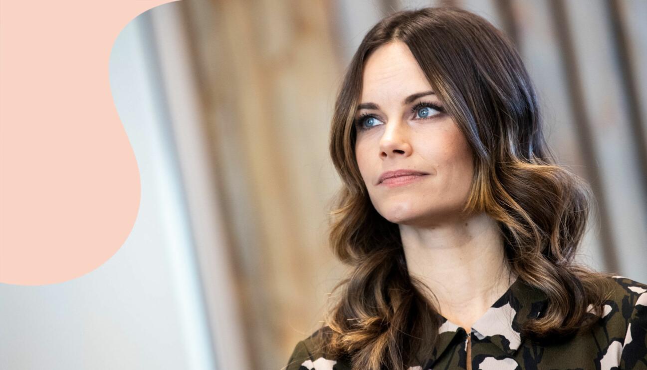 Prinsessan Sofia på invigningen av nya Älvdalsskolan i Älvdalen, november 2019.