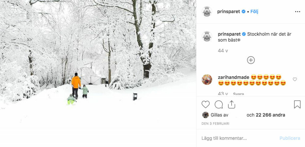 instagram prinsparet