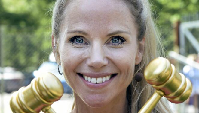 Sofia Rågenklint leder programmet <i>Auktionssommar</i> för fjärde gången. Foto: Kai Rehn