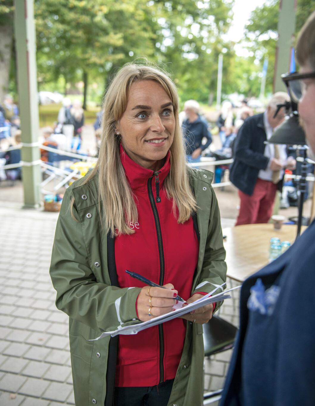 Projektledaren för Antikrundan, Ulrika Midunger.