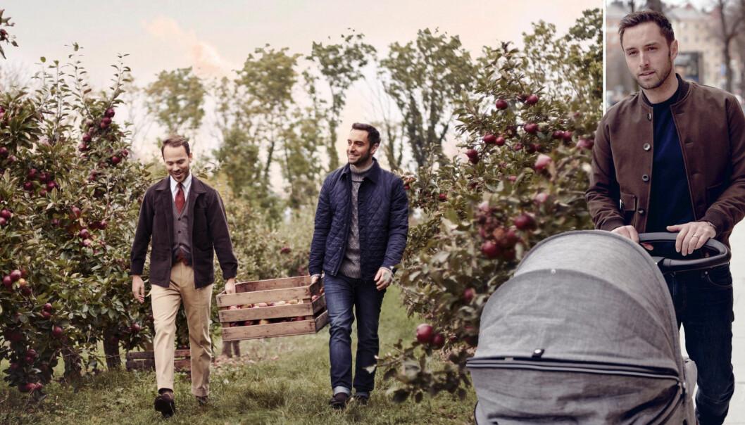 Måns Zelmerlöw och Alexander Wiberg