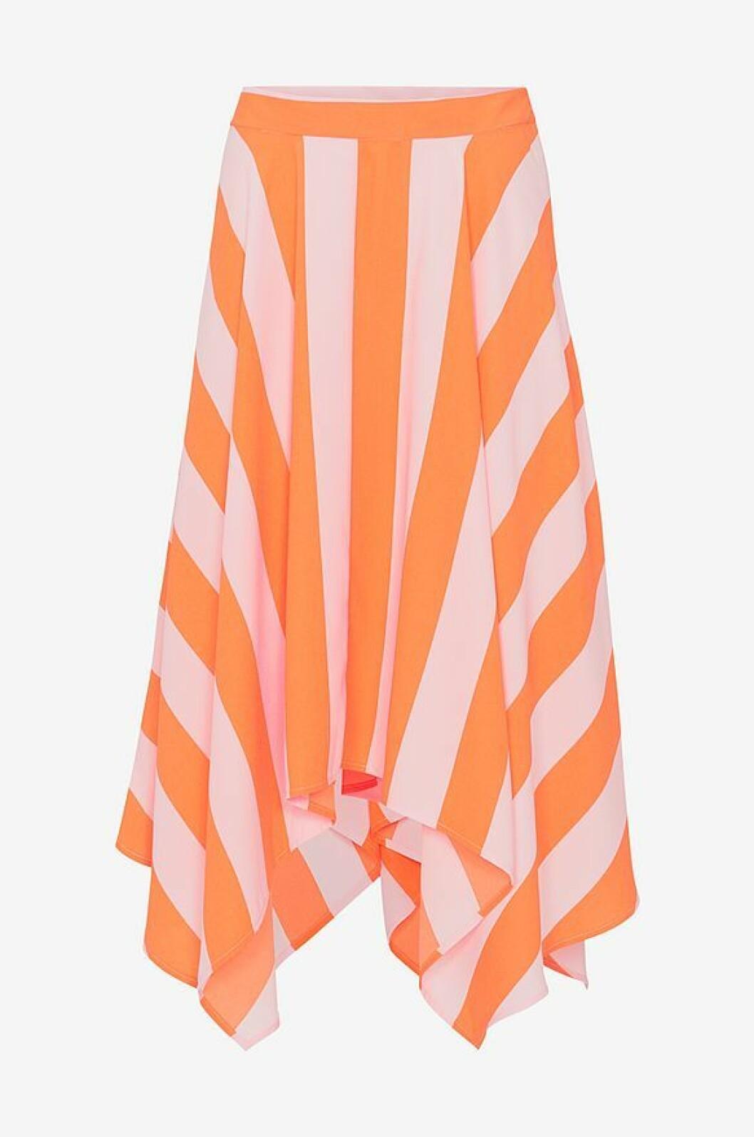 Randig kjol