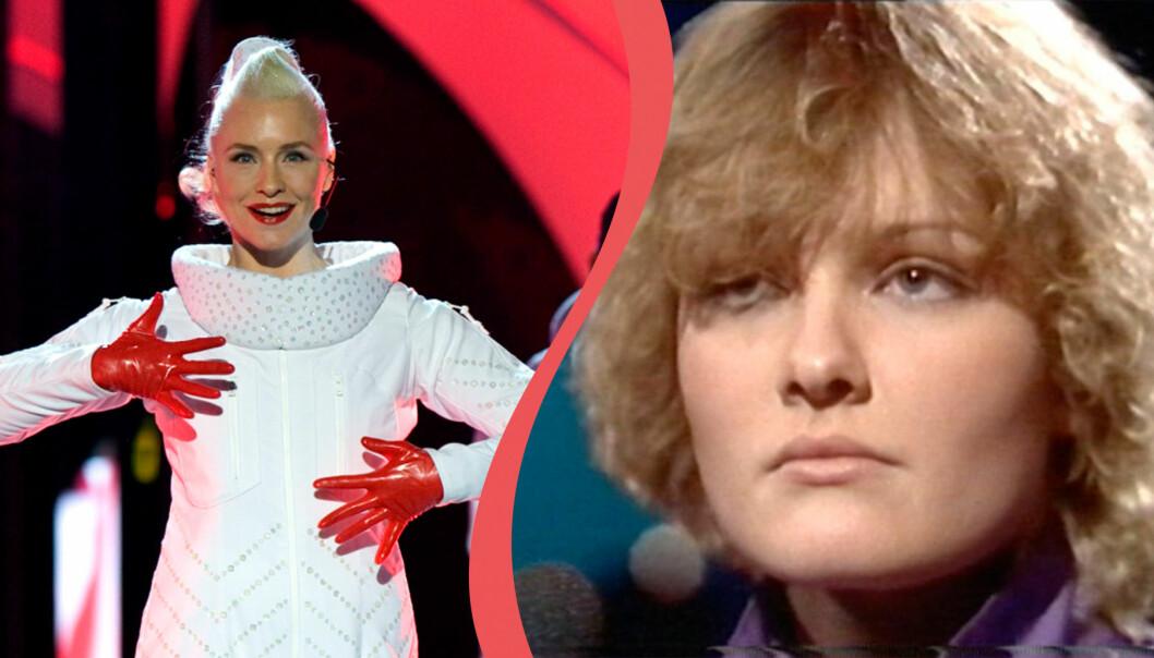 Regina Lugn och Eva Dahlgren har varit med i Melodifestivalen.