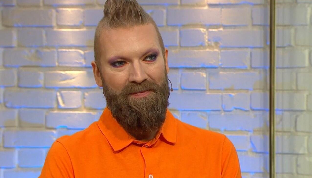 Rickard Söderberg berättar om sin hälsoresa i Nyhetsmorgon.