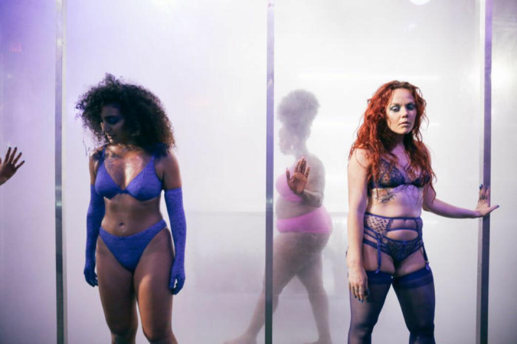 Savage x Fenty SS19 av Rihanna på New York Fashion Week.