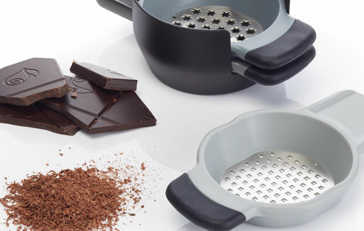 Rivjärn och choklad.
