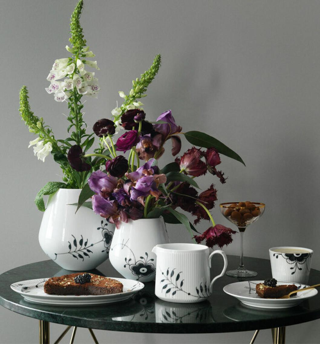 Vacker vas från Royal Copenhagen