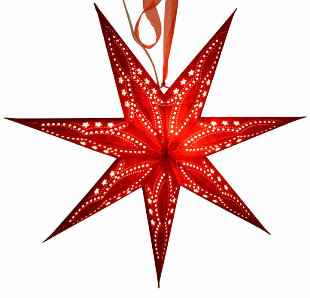 Röd julstjärna