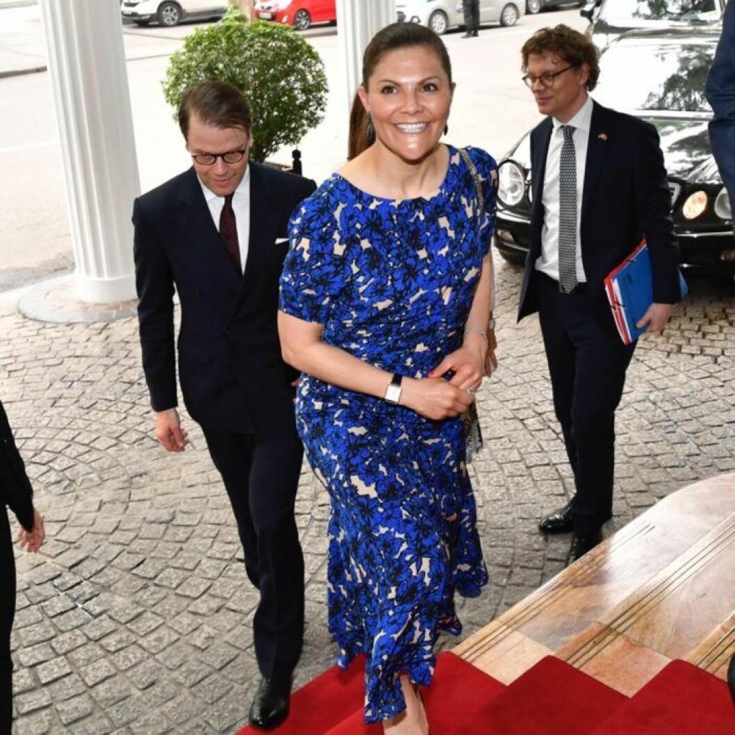 Rodebjer blå klänning