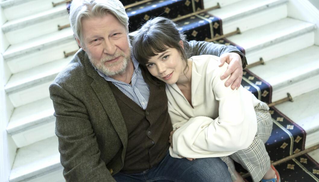 Rolf Lassgård är en av motspelarna i filmen <i>Min pappa Marianne</i>. Foto: TT