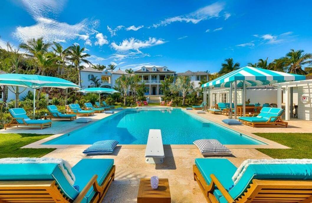 Villa Rosalitas pool