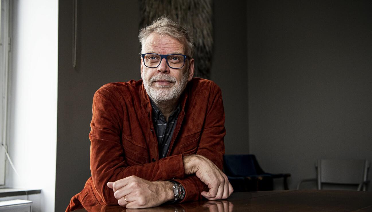 Manusförfattaren Hans Rosenfeldt