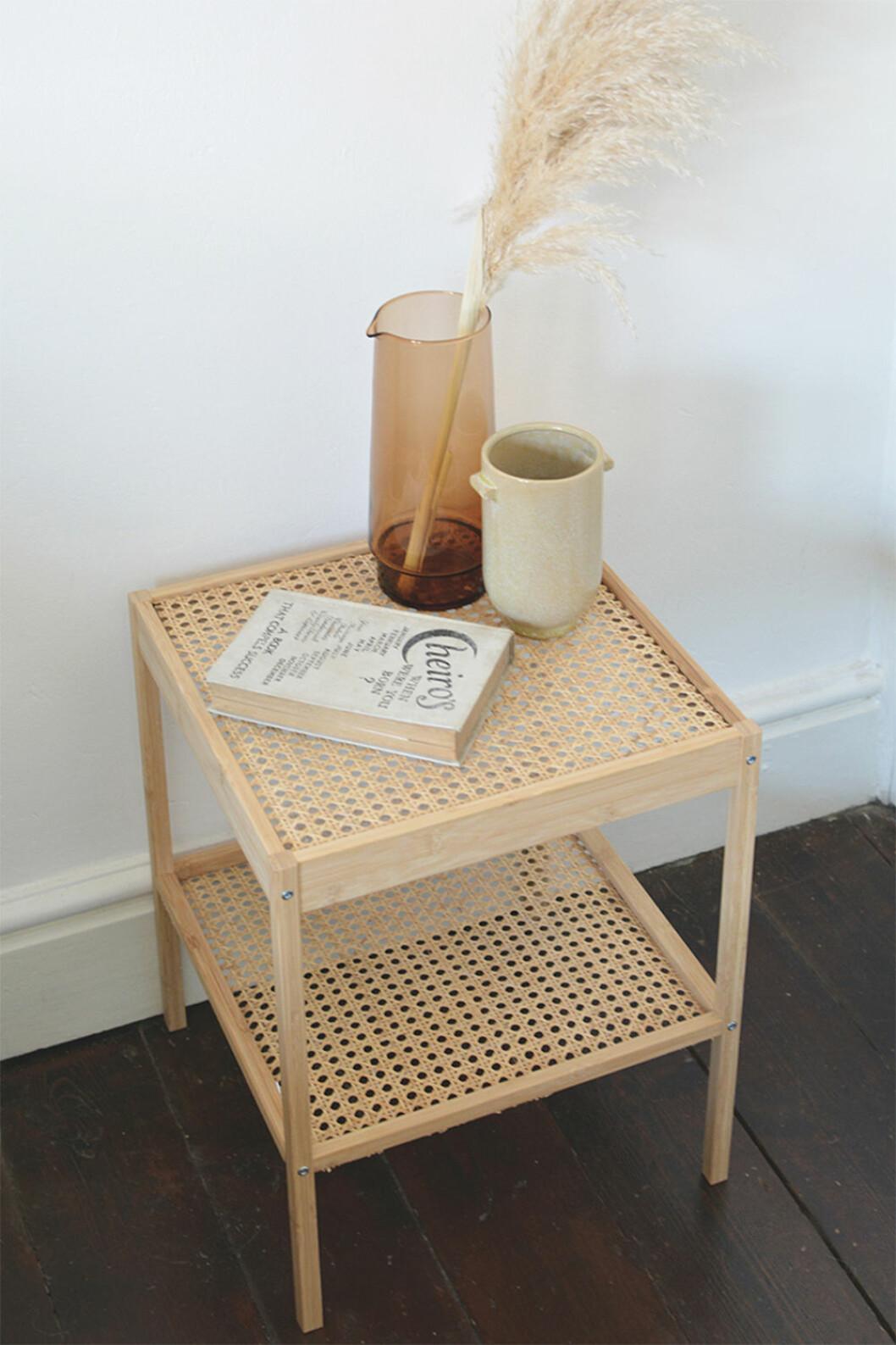 Ikeahack med rotting - sängbord