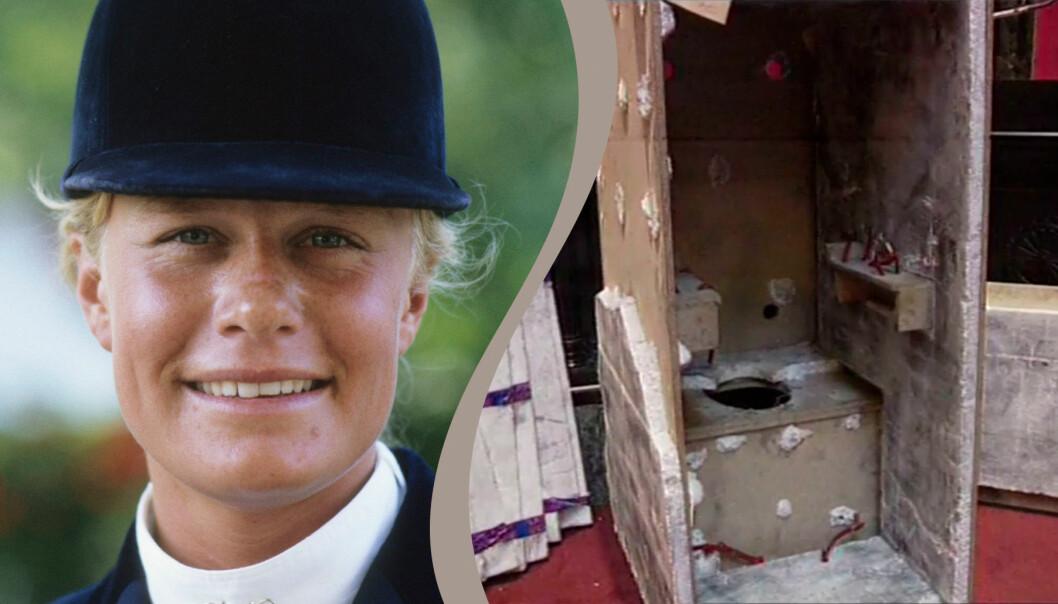 Tidigare proffsryttaren Ulrika Bidegård blev kidnappad år 1993.