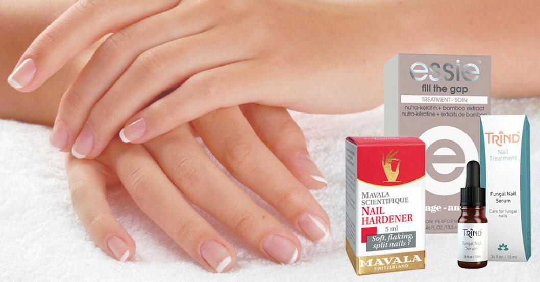Bra produkter för fina och starka naglar