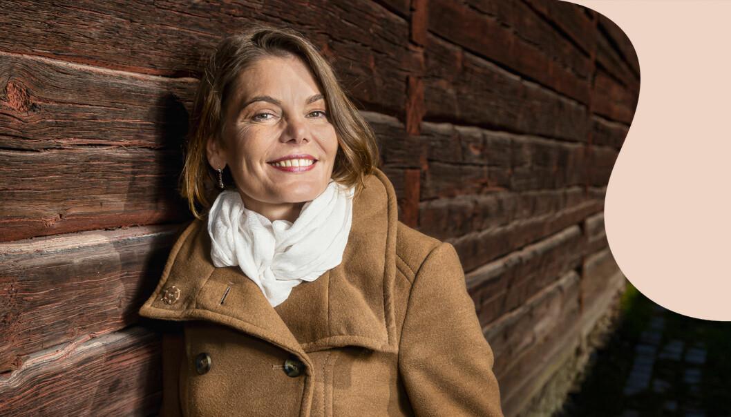 Sandra Englund från Gävle släktforskade med hjälp av DNA och fick veta att hon tillhör det romska minoriteten resandefolket.