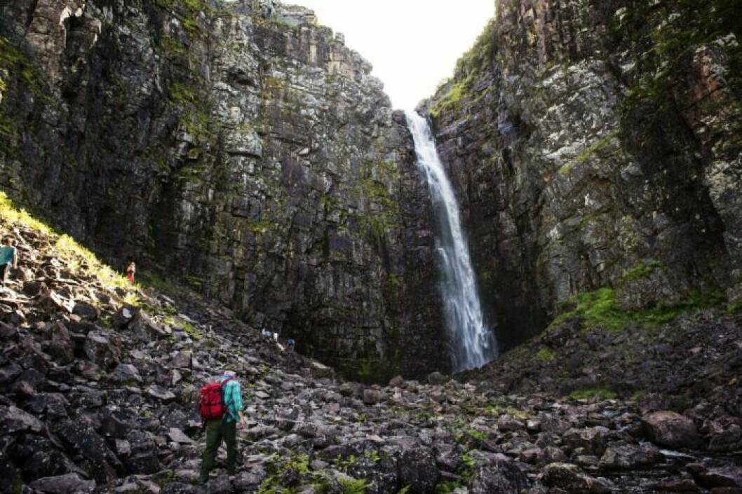 Njupeskär, Sveriges högsta vattenfall