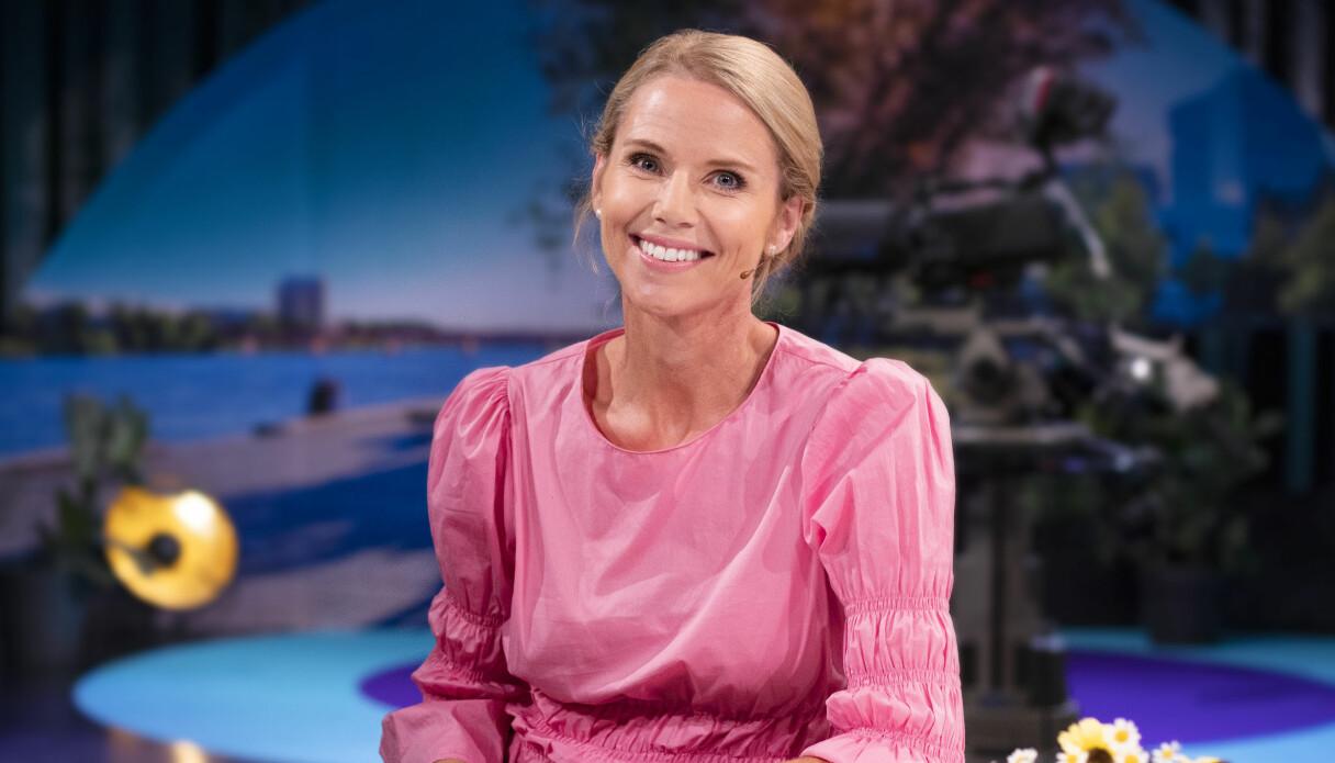 Sofia Rågenklint som programledare i Go'kväll 2020