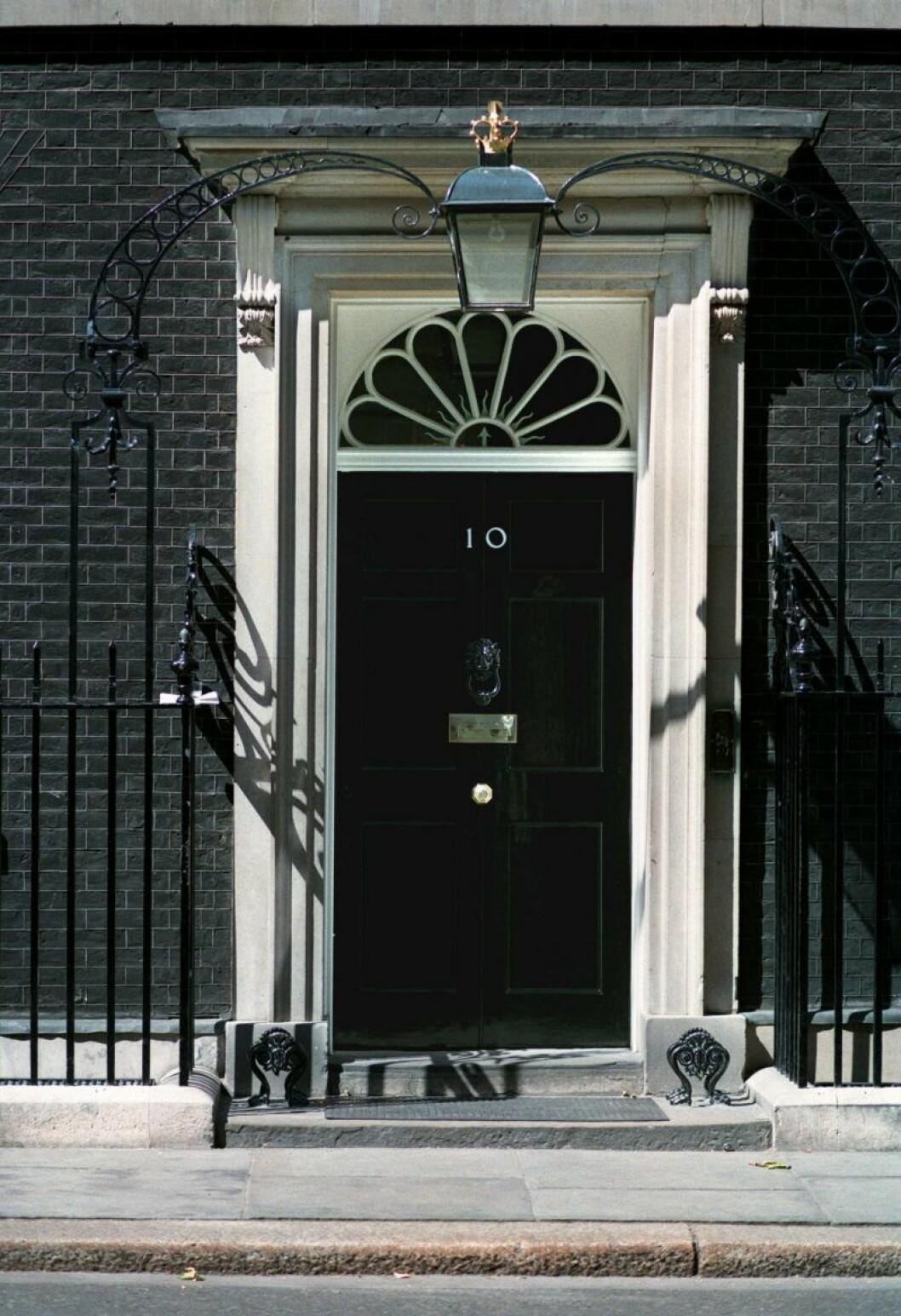 10 Downing Street i London.
