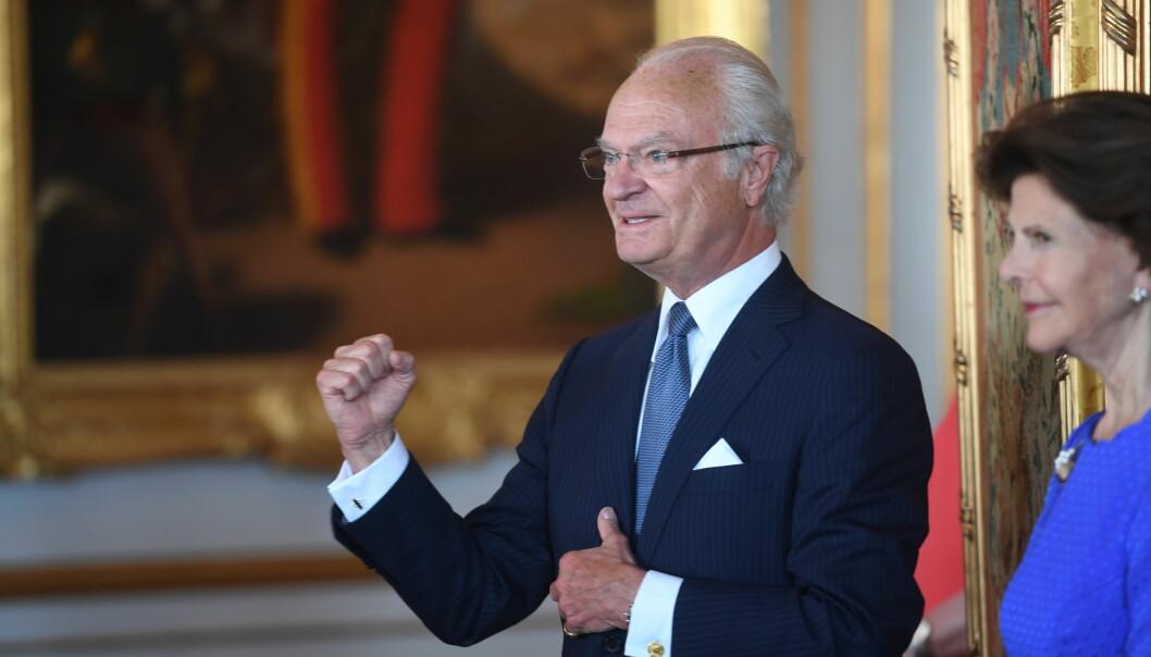 Carl XVI Gustaf och drottning Silvia har tagit vaccin mot covid-19, den 15 januari.