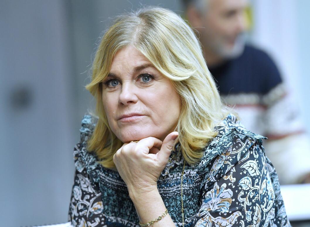 Pernilla Wahlgren talar ut om inbrottet i hennes villa på Lidingö.