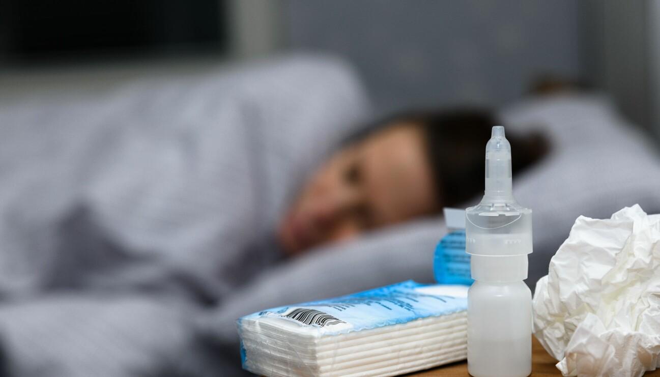 Bihåleinflammation gör dig ofta sängliggandes i flera dagar.