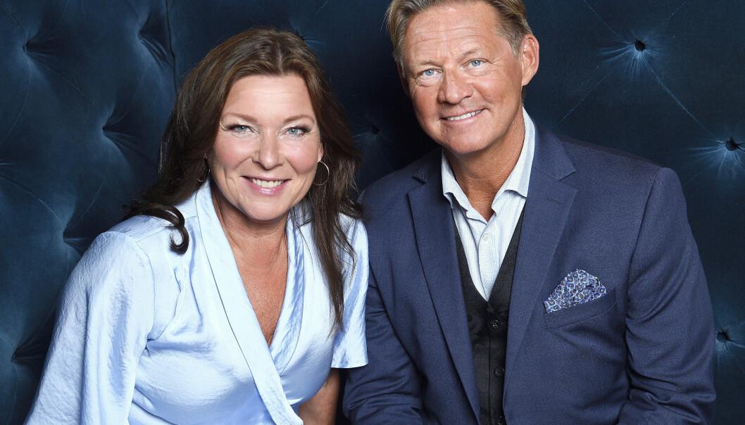 """Lotta Engberg och Mikael """"Soldoktorn"""" Sandström har köpt hus i Göteborg. De blev ett par sommaren 2020."""