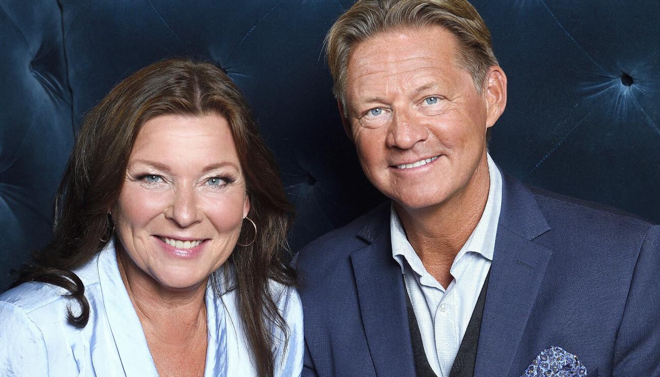 Lotta Engberg och Mikael Sandström är Sveriges hetaste par.