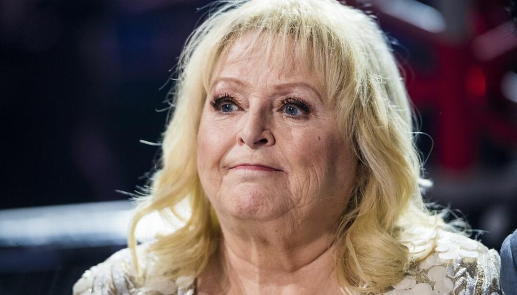 Kikki Danielsson ser besviken ut.