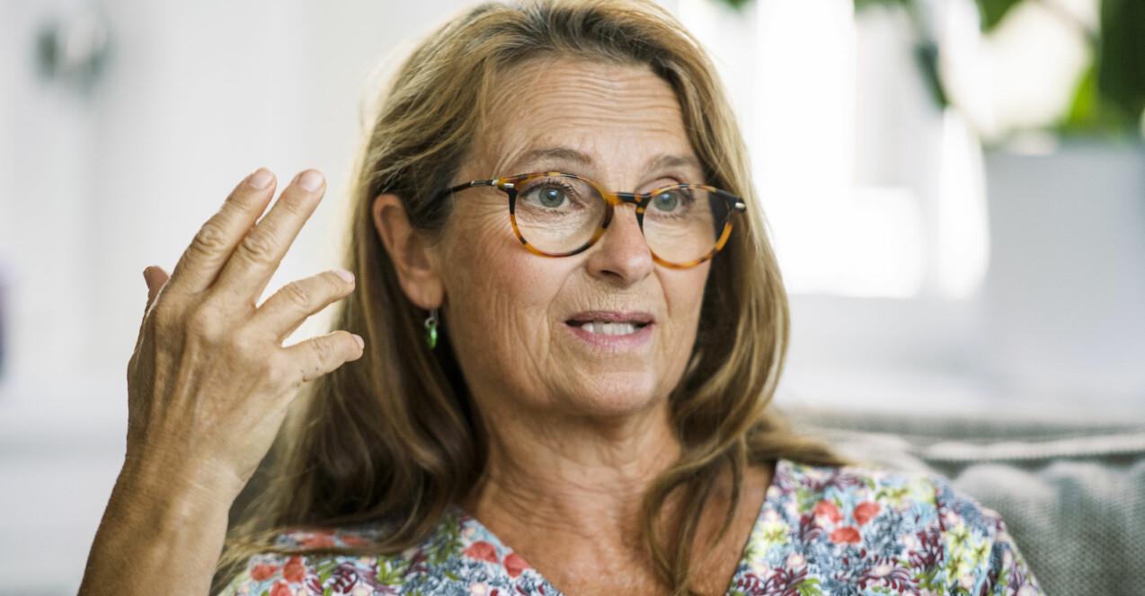 Suzanne Reuter är aktuell i Ica-reklamerna som Ica-Stina efter att tillsammans med Björn Kjellman tagit över efter att Loa Falkman lämnade som Ica-Stig. När hon fick corona förra året fick hon sämre minne.