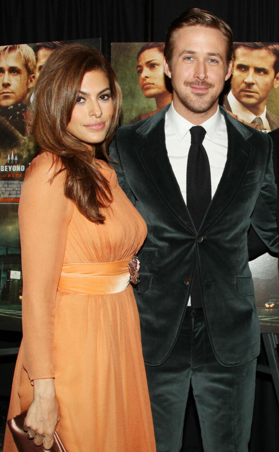 Eva Mendes och Ryan Gosling.