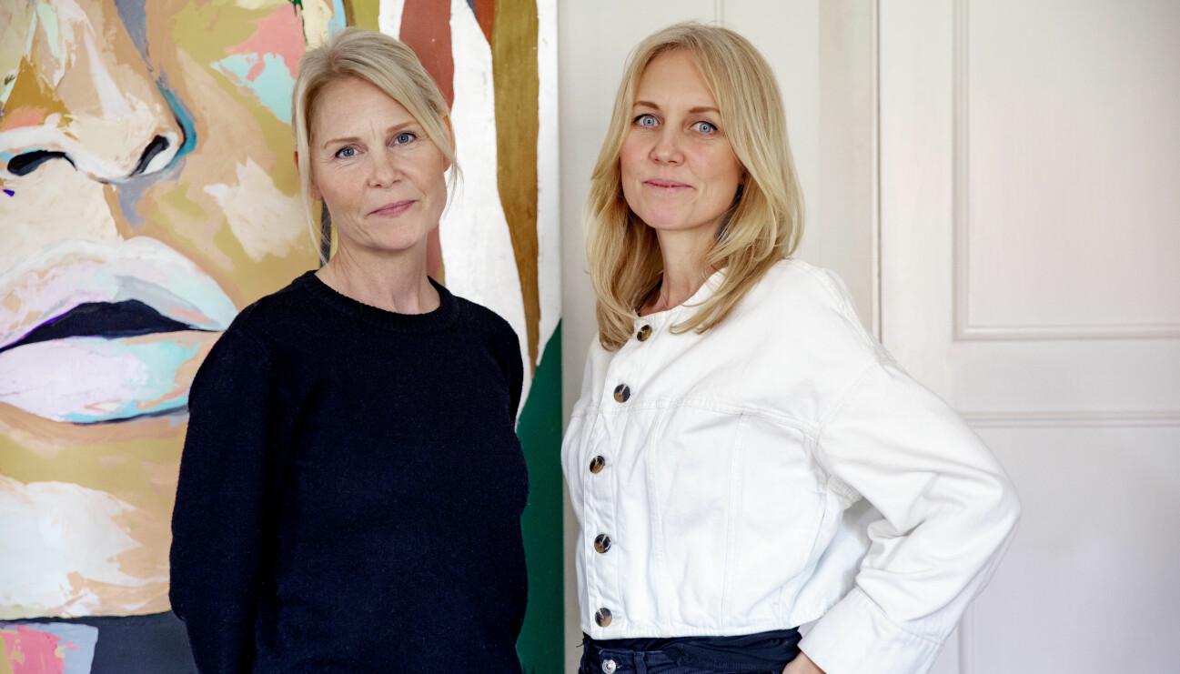 Josephine Appelqvist och Anna Sander, grundare av den ideella organisationen Talita som hjälper kvinnor ut ur prostitution.
