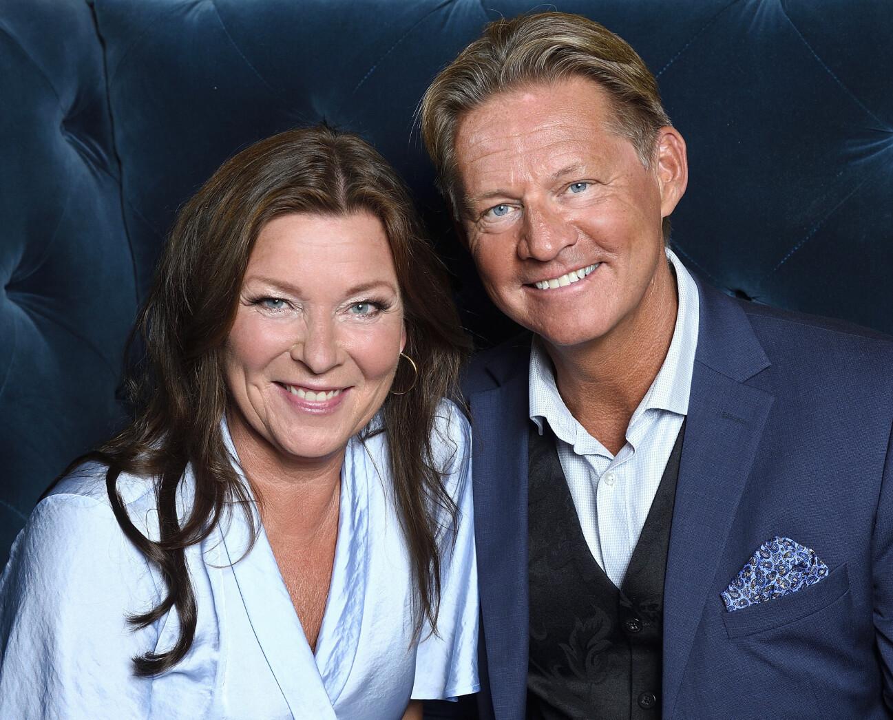 Lotta Engberg och Mikael Sandström