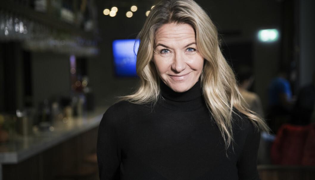 Kristin Kaspersen som nyligen gett ut boken Vägen till att leda mig själv.