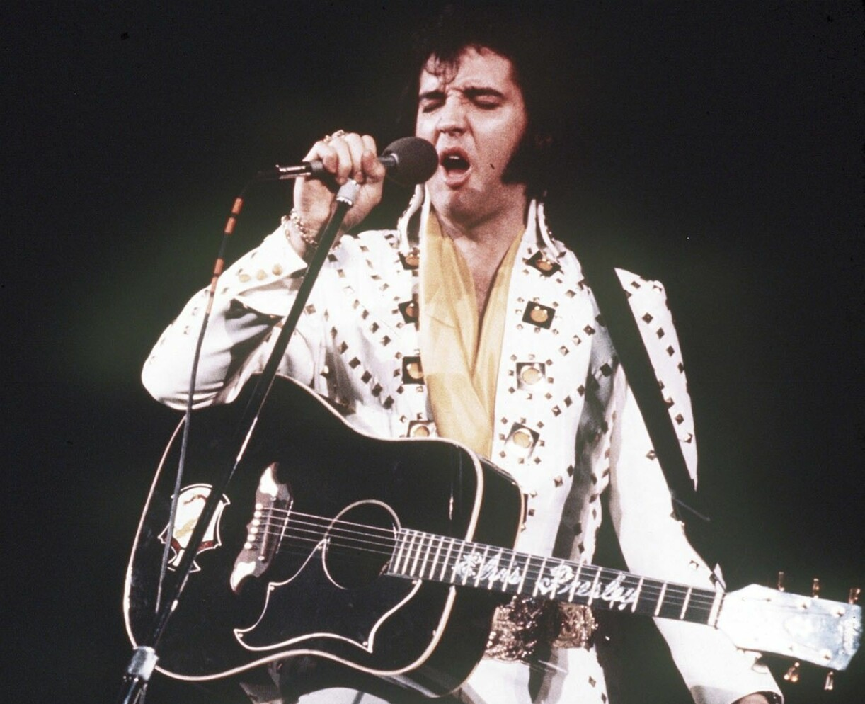 Elvis Presley på 70-talet.