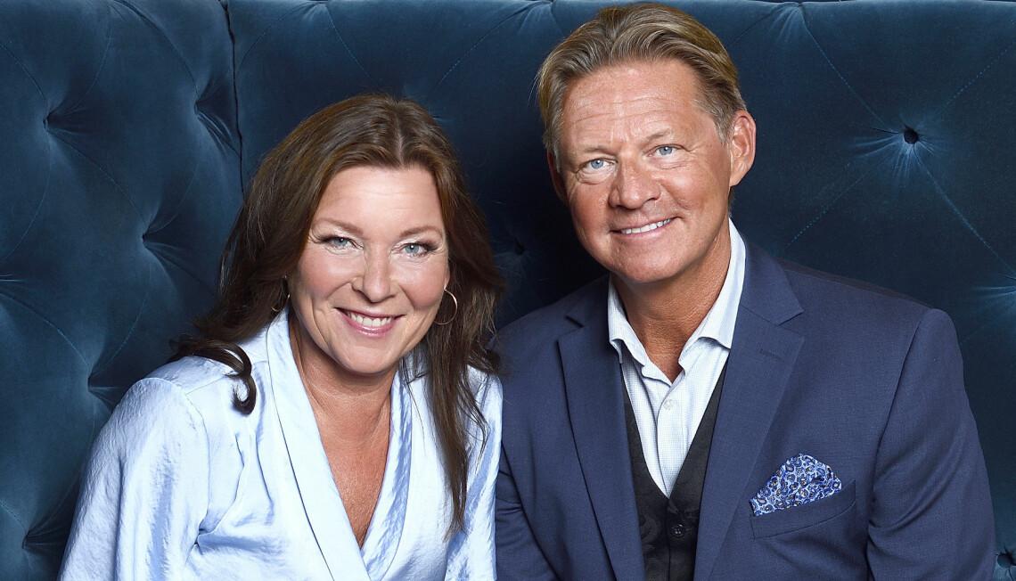 Lotta Engberg och Mikael Sandström flyttade ihop i början på 2021.