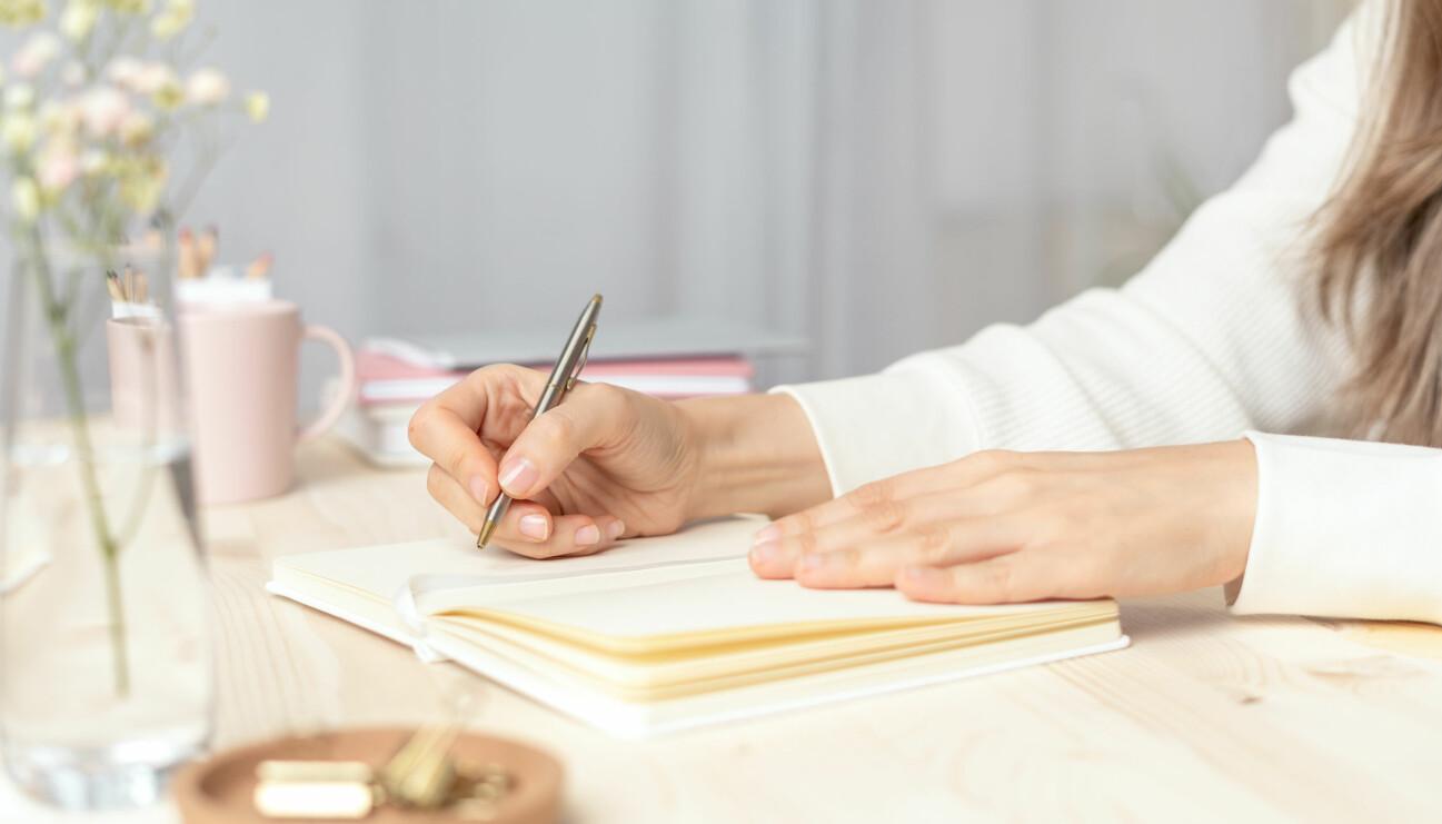 Skriv listor så får du mer gjort