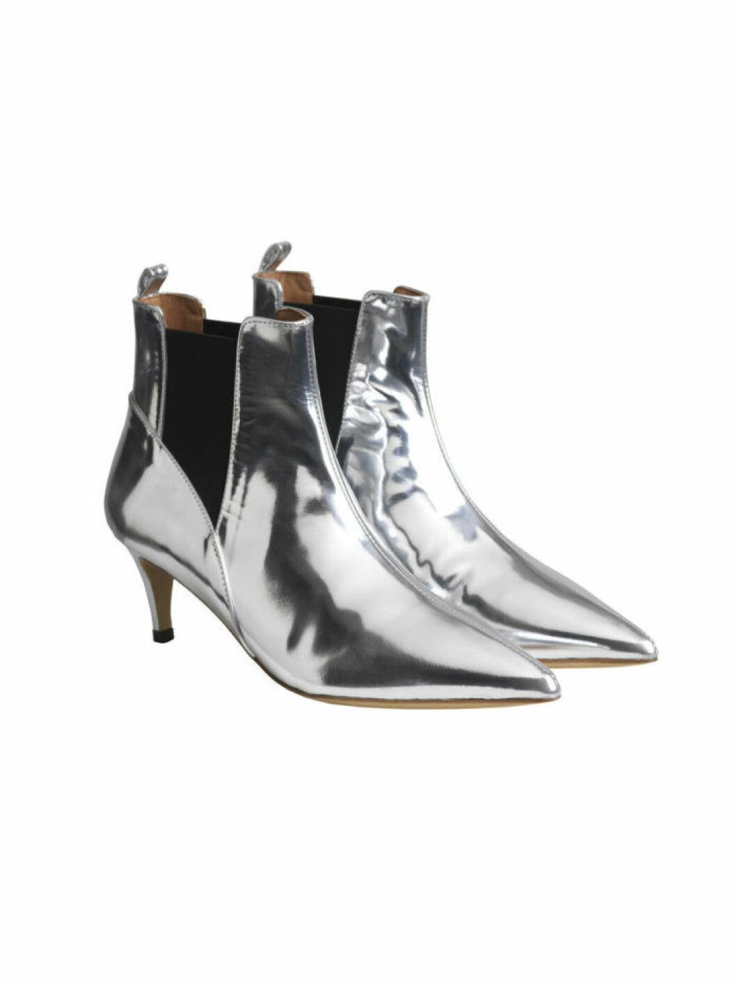 Silver boots fran By Malene Birger