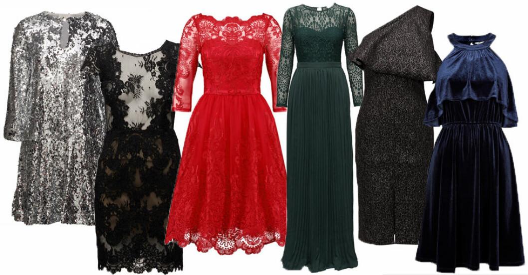 snygga klänningar till nyår 2017